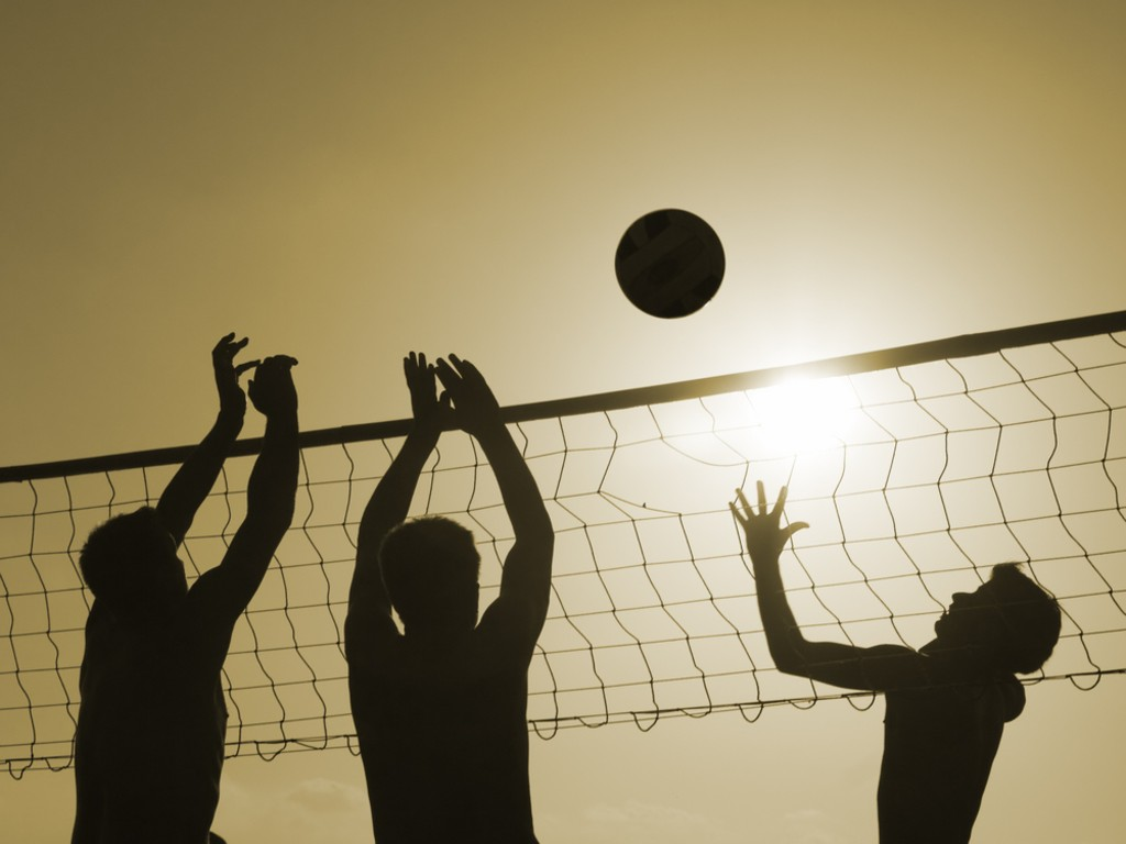 Photo volley ball