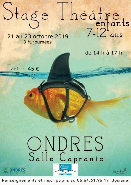 Affiche stage octobre 2019